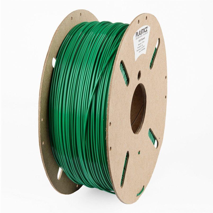 "PETG ""ECO-pack"", Traffic Green RAL 6024, 1 KG filament-1"