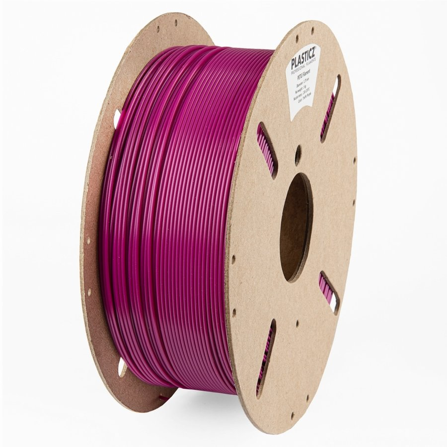 "PETG ""ECO-pack"" Traffic Purple / Paars - RAL 4006, 1 KG filament-1"