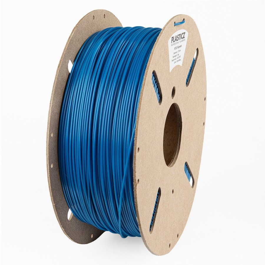 "PETG ""ECO-pack"" Traffic Blue /Verkeers Blauw - RAL 5017, 1 KG filament-1"