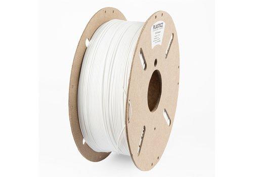 "Plasticz PETG ""ECO-pack"" filament, 1 KG, Traffic White/Wit RAL 9016"