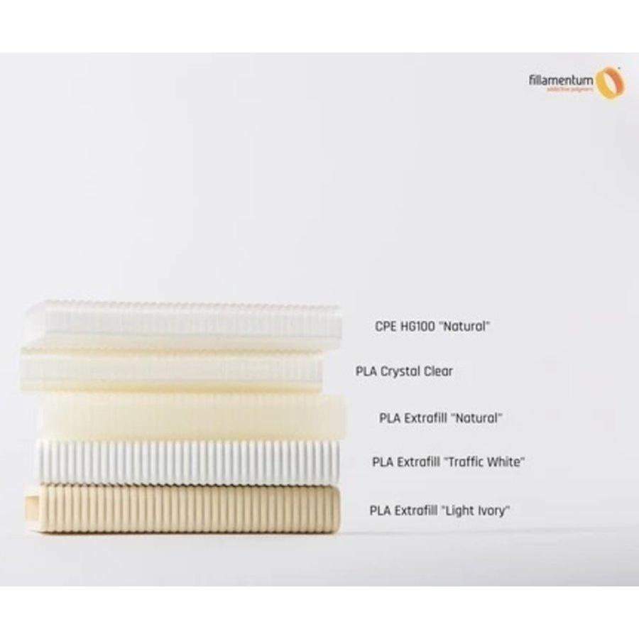PLA Traffic White/wit-RAL 9016, 750 gram 3D filament-2