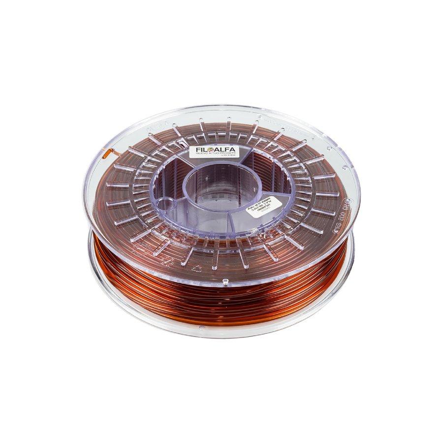 PLA Amber, Pantone 168, 700 gram (0.7 KG) 3D filament-1