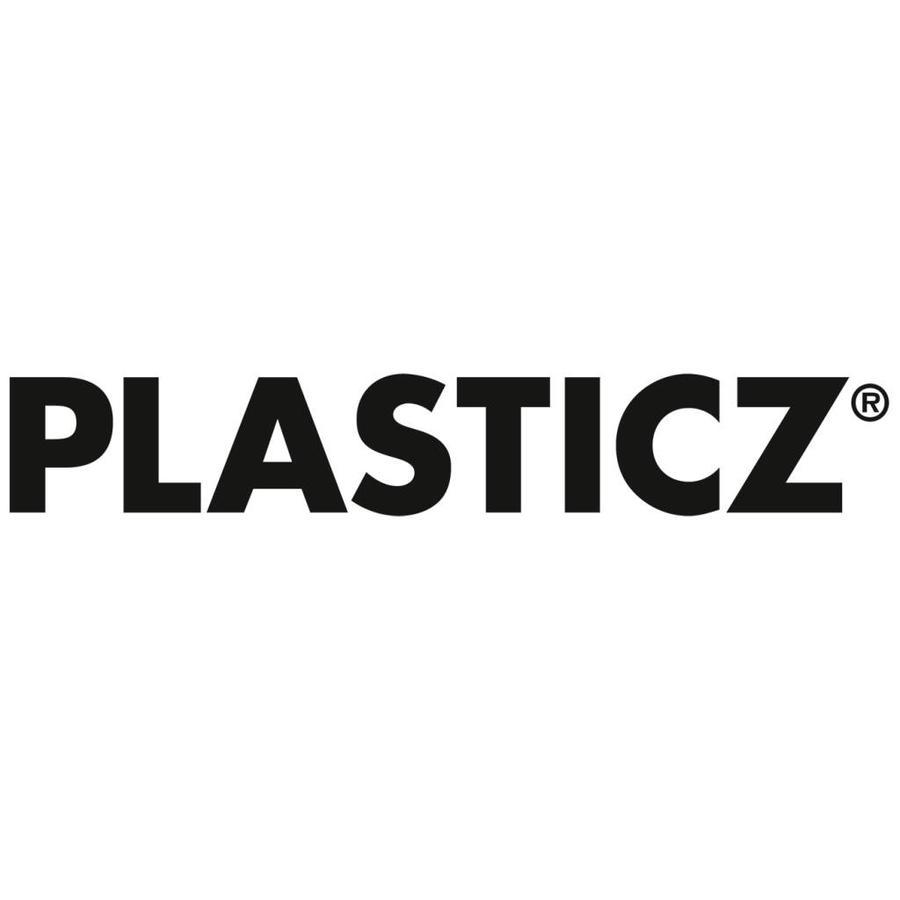 PLA Metallic Grey / Grijs: RAL 7045, 1.75 - 2.85 mm, 1.000 gram (1 kg), Plasticz, filament-2