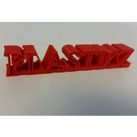 PLA Traffic Rood / Red-3D filament, RAL 3020, Pantone 485, 1 KG