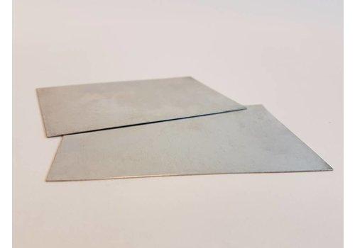 Plasticz Metalen stelkaart: afstand nozzle - printbed / printbed leveling