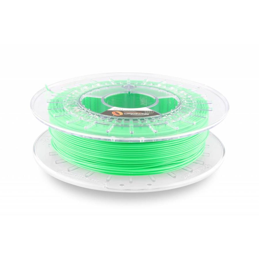 Flexfill 92A Luminous Green RAL 6038/ Fluorescerend Groen: flexibel 3D filament, natural, 500 gram (0.5 KG)-1