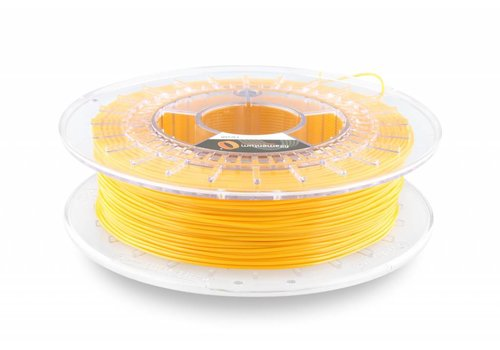 Fillamentum Flexfill 98A Signal Yellow RAL 1003: semi-flexibel 3D filament, 500 gram