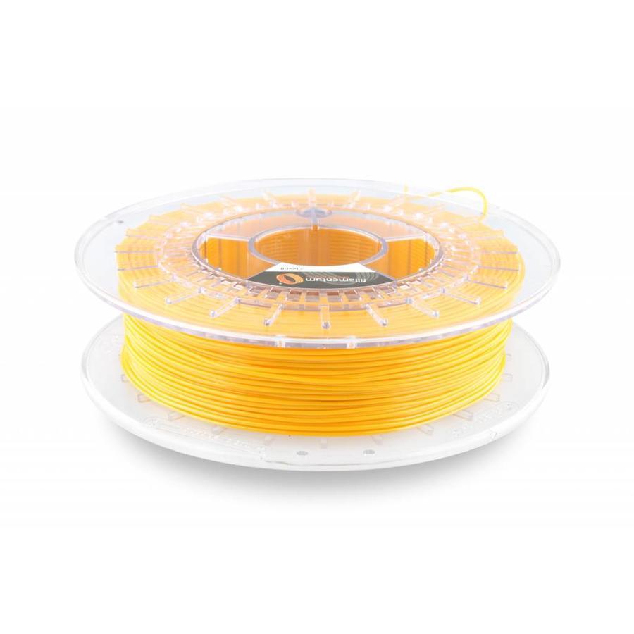 1.75 mm Flexfill 98A Signal Yellow RAL 1003: semi flexible 3D filament, 500 grams (0.5 KG)-1