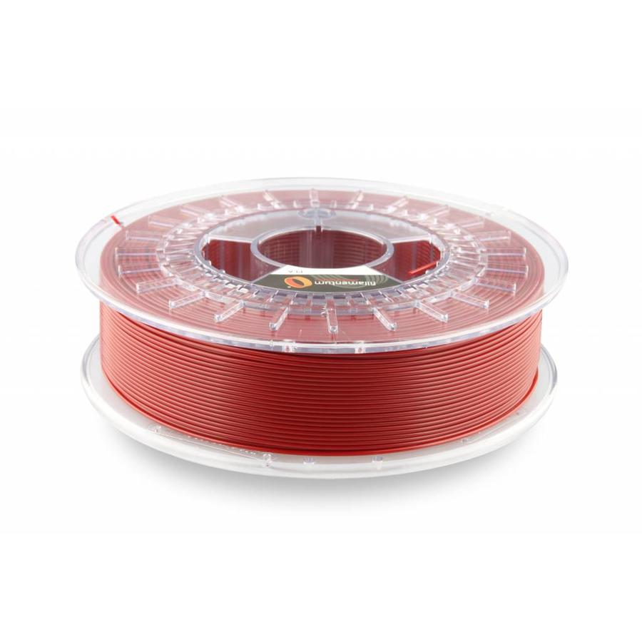 PLA Pearl Ruby Red / Parelmoer rood: RAL 3032, 1.75 / 2.85 mm, 750 gram (0.75 KG)-1