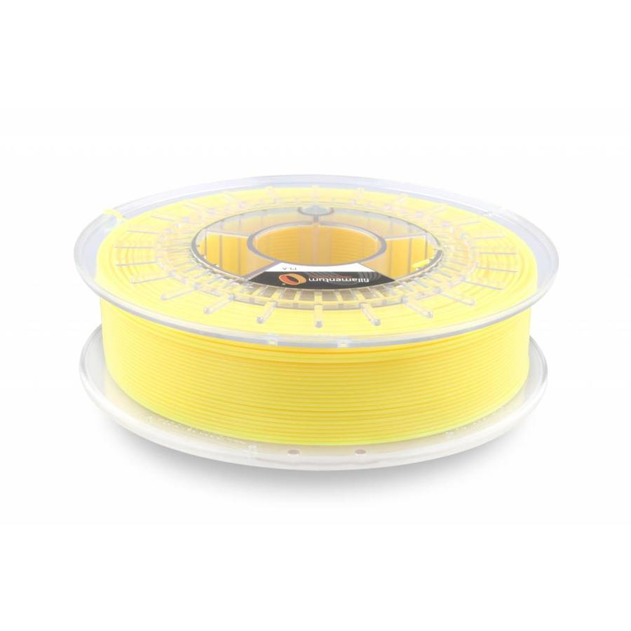 PLA Luminous Yellow / Geel: RAL 1026, 1.75 / 2.85 mm, 750 grams (0.75 KG)-1