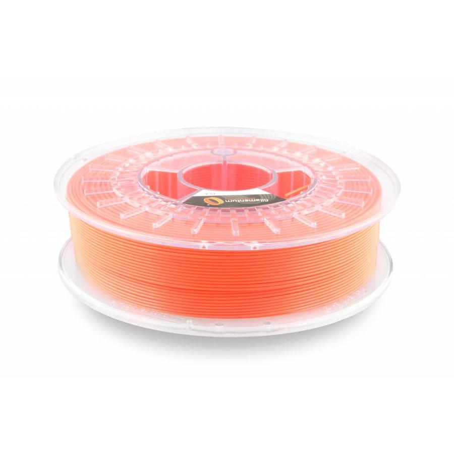 PLA Luminous Orange / Oranje: RAL 2005, 1.75 / 2.85 mm, 750 gram (0.75 KG)-1
