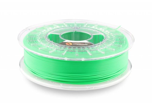 Fillamentum PLA Luminous Green/Groen: RAL 6038 , 1.75 / 2.85 mm, 750 grams (0.75 KG)