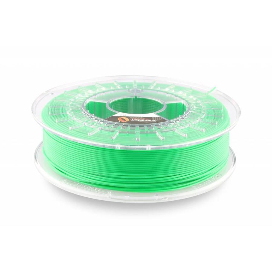 PLA Luminous Green/Groen: RAL 6038 , 1.75 / 2.85 mm, 750 gram (0.75 KG)-1