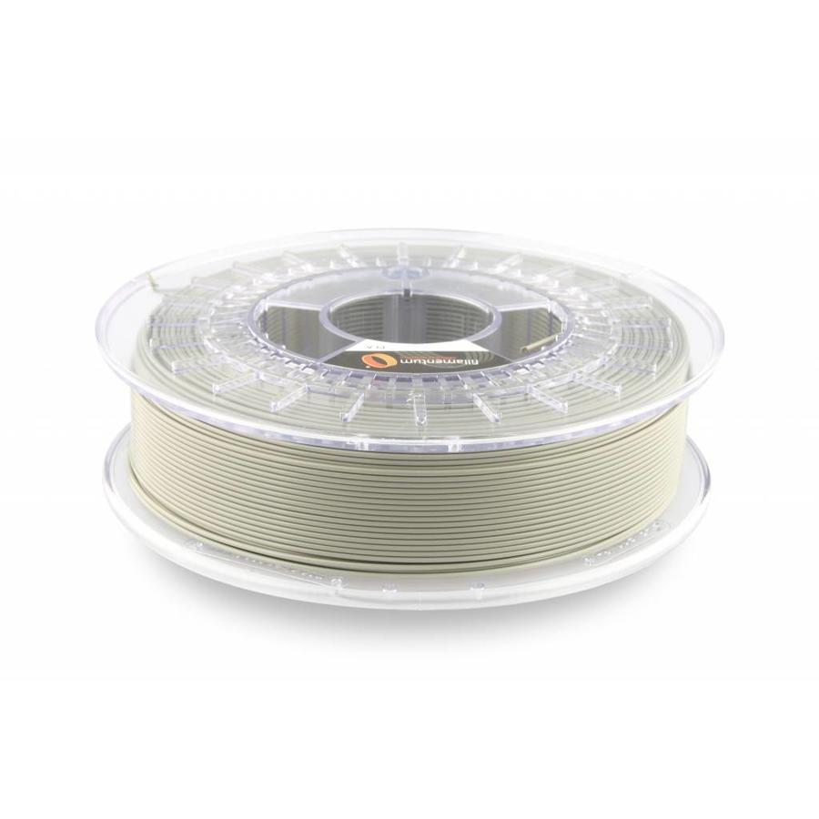 PLA Concrete Grey: RAL 7023 / PMS 424, 1.75 / 2.85 mm PLA Extrafill, 750 gram (0.75 KG)-1