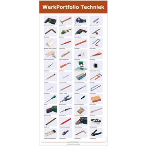 Home-Tech poster met gereedschap