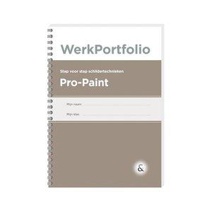 PRO-PAINT werkboek met schildertechnieken