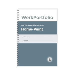 HOME-PAINT werkboek met schilderopdrachten