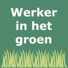 Werker in het groen