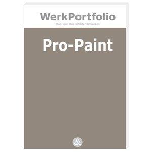 PRO-PAINT praktijkkaarten met schildertechnieken
