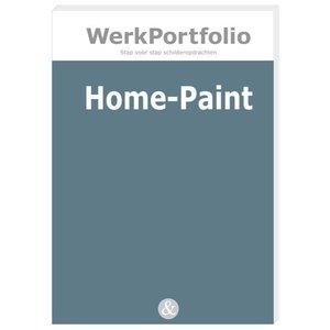 HOME-PAINT praktijkkaarten met schilderopdrachten