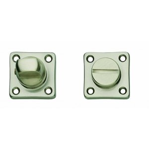 Intersteel Rozet mat/nikkel met toilet-/badkamersluiting