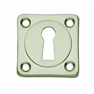 Intersteel Rozet mat/nikkel met sleutelgat