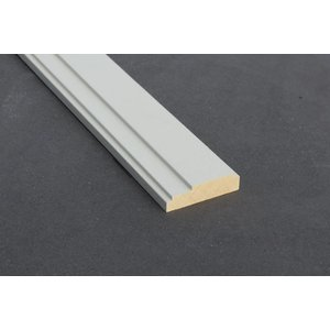 Architraaf model 0100 18x70mm gegrond
