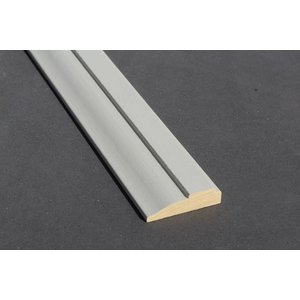 Architraaf model 0101 18x70mm gegrond