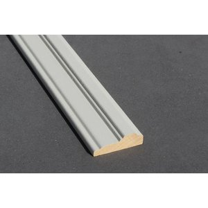 Architraaf model 0102 18x70mm gegrond