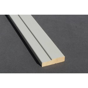Architraaf model 0104 18x70mm gegrond