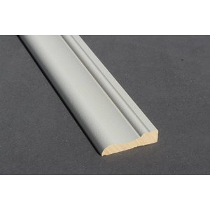 Architraaf model 0105 18x70mm gegrond