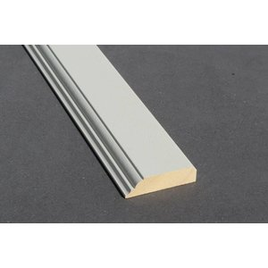 Architraaf model 0106 18x70mm gegrond