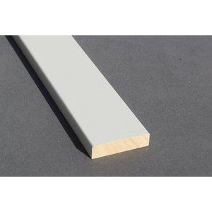 Architraaf model 0107 18x70mm gegrond