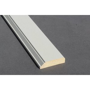 Architraaf model 0108 18x70mm gegrond