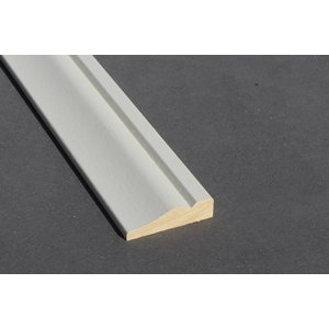Architraaf model 0109 18x70mm gegrond