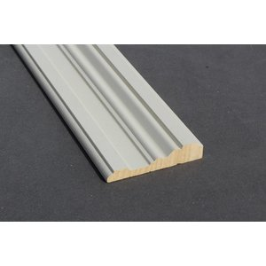 Architraaf model 0110 18x90mm gegrond