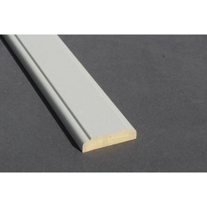 Architraaf model 0113 18x70mm gegrond