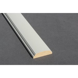 Architraaf model 0114 18x60mm gegrond