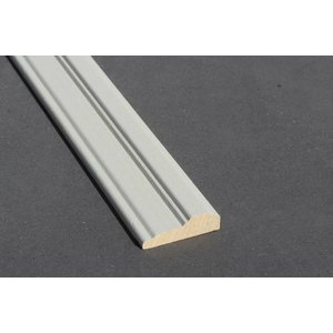 Architraaf model 0117 18x70mm gegrond