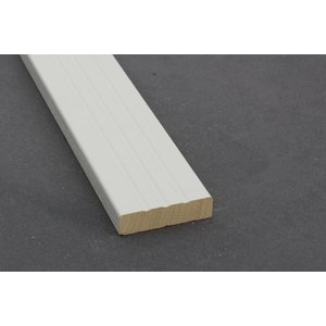 Architraaf model 0120 18x70mm gegrond