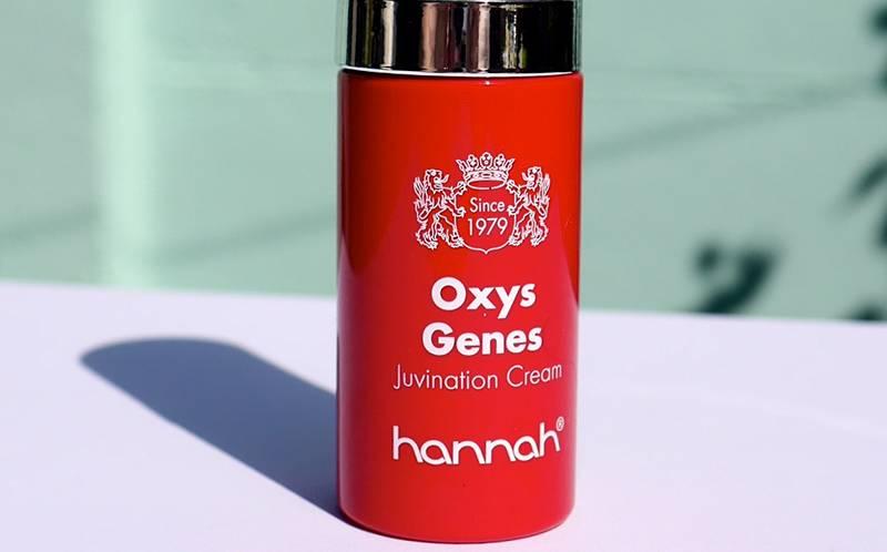 Hannah Oxys Genes voor een zichtbaar jongere huid