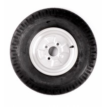 Wiel 5.00-10 (4x100) 355kg - 4PR - naaf 60 mm