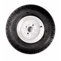 Wiel 5.00-10 (4x100) 440kg - 6PR - naaf 60 mm
