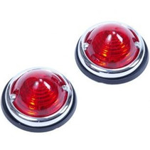 Positielampset Rood (2 stuks)
