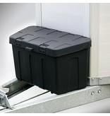 Water- en stofdichte (IP55) disselbak van kunststof