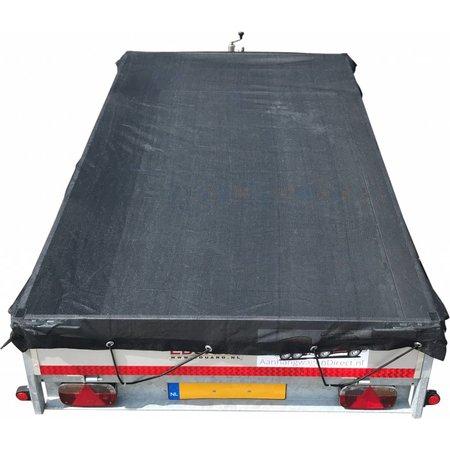 AWD Premium gaasnet - 200x140 cm - inclusief elastiek rondom - UV bestendig - net voor aanhanger