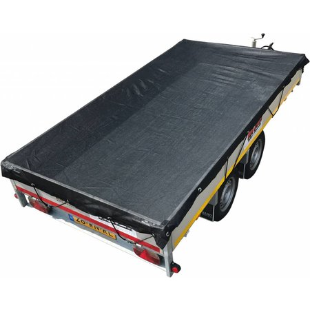 AWD Premium gaasnet - 370x250 cm - inclusief elastiek rondom - UV bestendig - net voor aanhanger