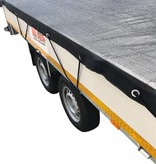 Premium gaasnet - 350x180 cm - inclusief elastiek rondom - UV bestendig - net voor aanhanger