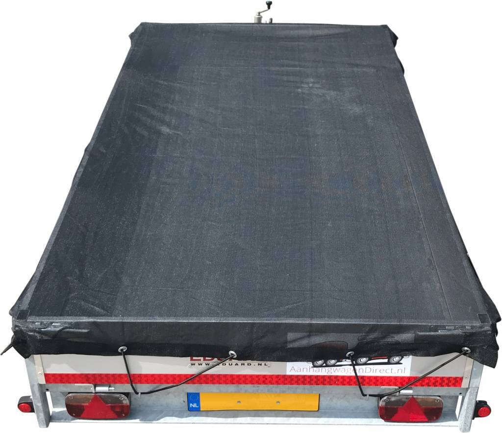 AWD Premium gaasnet - 300x200 cm - inclusief elastiek rondom - UV bestendig - net voor aanhanger