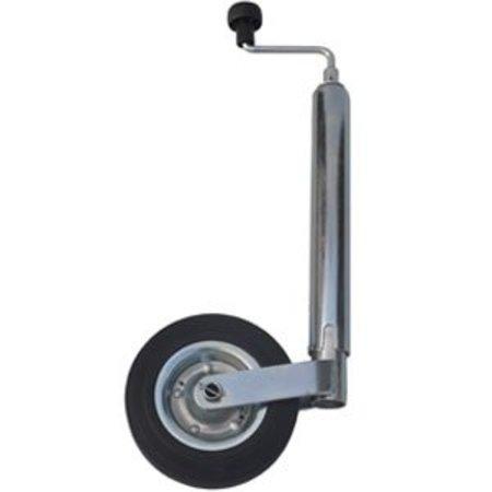 Neuswiel voor aanhangwagen rond 48 mm met stalen velg * Eigen import *